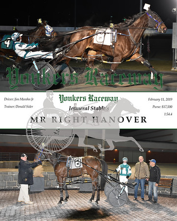 20190211 Race 12-Mr Right Hanover