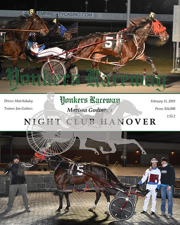 20190211 Race 5-Night Club Hanover