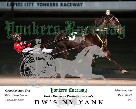 20190216 Race 6- DW's NY Yank 2