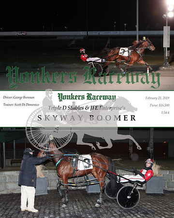 20190221 Race 5- Skyway Boomer