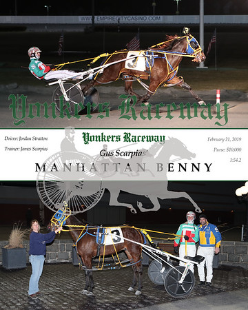 20190221 Race 1- Manhattan Benny