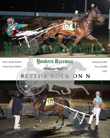 20190223 Race 10-Bettor Rock On N