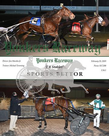 20190223 Race 4-Sports Bettor