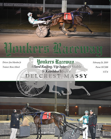 20190226 Race 11- Delcrest Massy