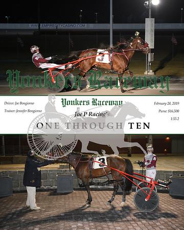 20190228 Race 9- One Through Ten