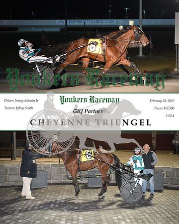 20190228 Race 10- Cheyenne Triengel