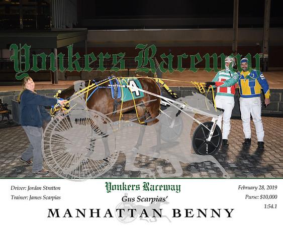 20190228 Race 1- Manhattan Benny
