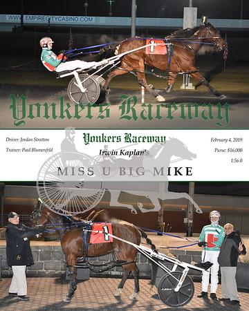 20190204 Race 5- Miss U Big Mike