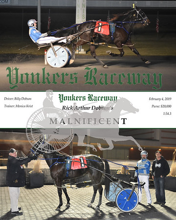 20190204 Race 9- Malnificent
