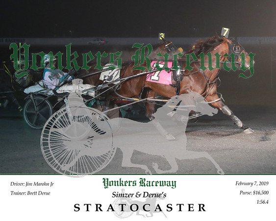 20190207 Race 9- Stratocaster