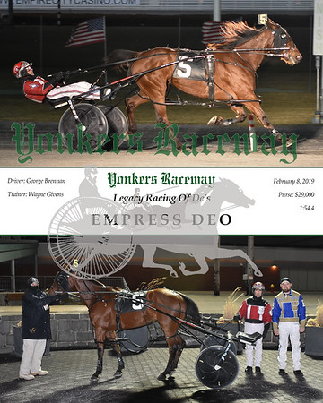 20190208 Race 8-Empress Deo
