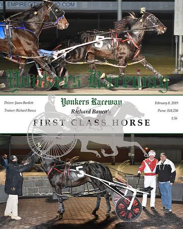 20190208 Race 3-First Class Horse