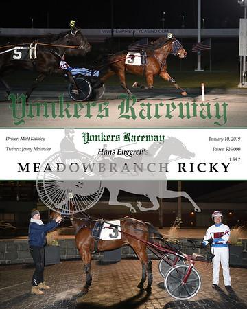 20180110 Race 10- Meadowbranch ricky