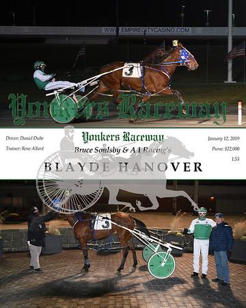 20190112 Race 1- Blayde Hanover