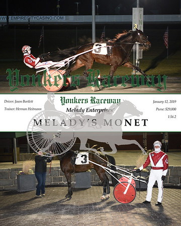 20190112 Race 5- Melady's Monet