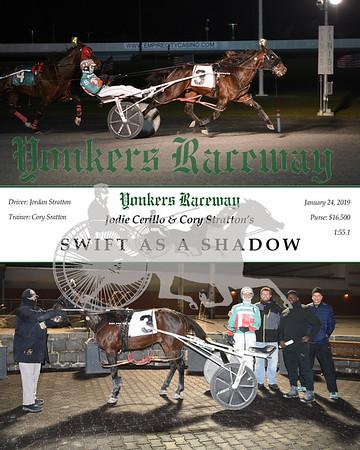 20190124 Race 9- Swift As A Shadow