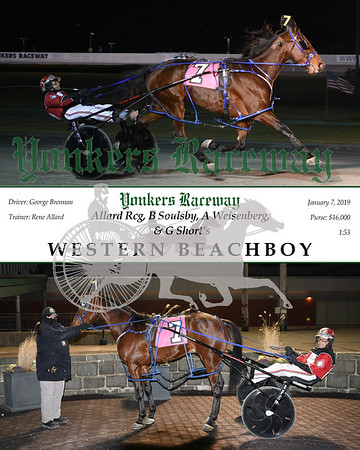 20180107 Race 6-Western Beachboy