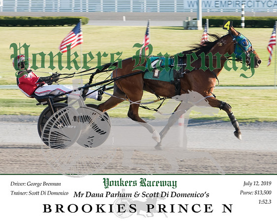 20190712 Race 1- Brookies Prince N