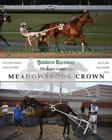 20190715 Race 4-Meadowbrook Crown