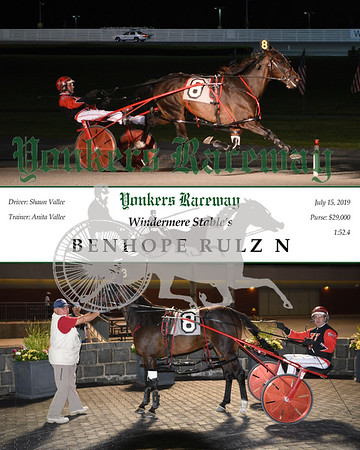 20190715 Race 11-Benhope Rulz N