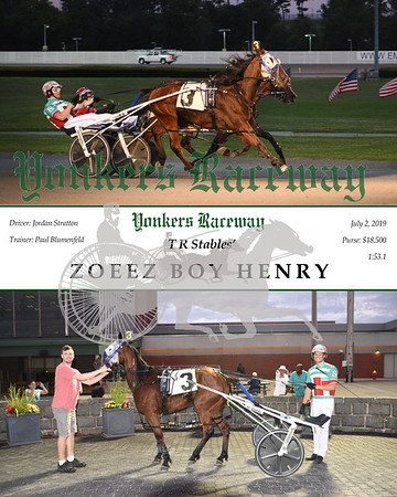 20190702 Race 5- Zoeez Boy Henry