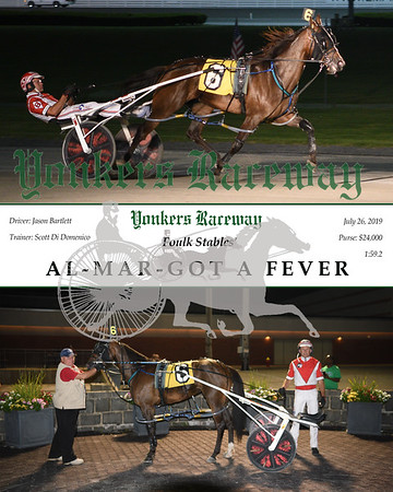 20190726 Race 8-Al-Mar-Got A Fever
