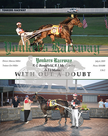 20190704 Race 5- With Out A Doubt