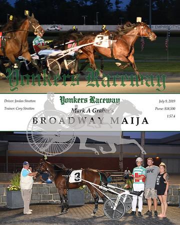 20190709 Race 5- Broadway Maija