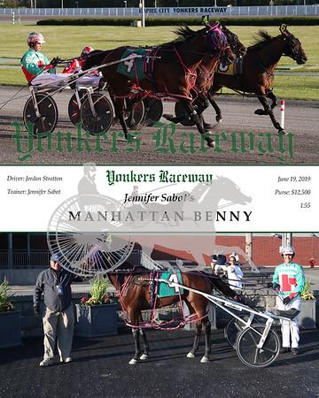 20190611 Race 1- Manhattan Benny