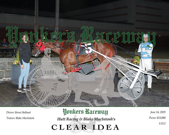 20190614 Race 6- Clear Idea