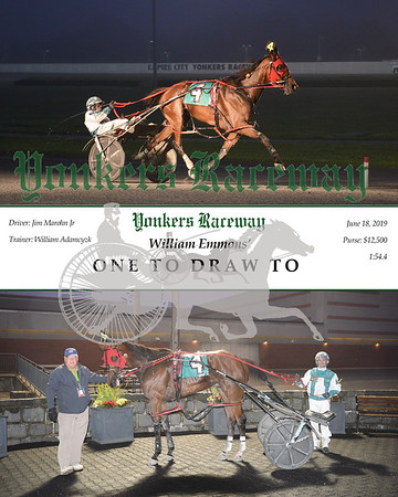 20190618 Race 5-One To Draw To