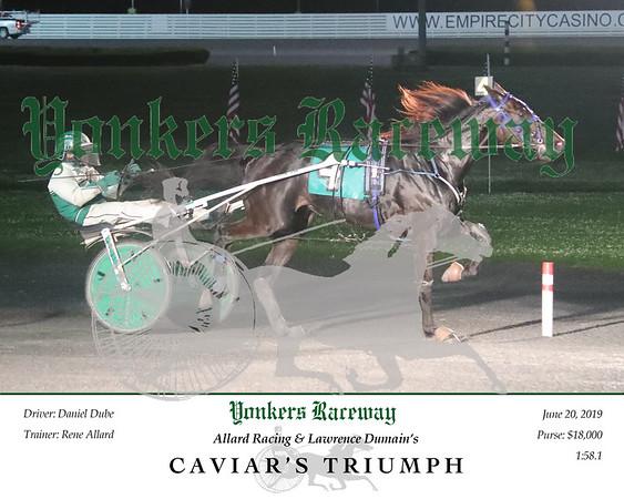 20190620 Race 8- Caviar's Triumph