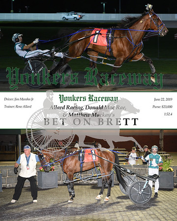 20190622 Race 12-Bet On Brett