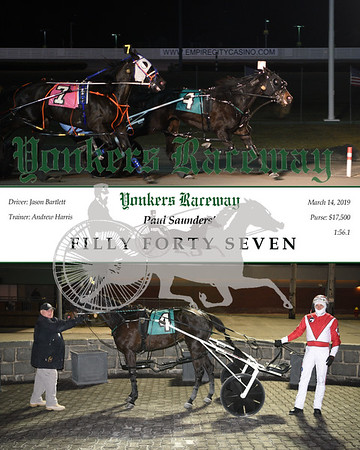 20190314 Race 5- Filly Forty Seven