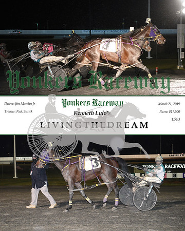 20190321 Race 9- Livingthedream
