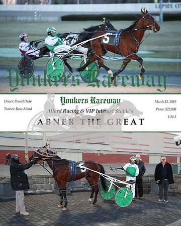 20190323 Race 1- Abner The Great