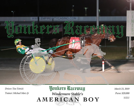 20190323 Race 3- American Boy N 3