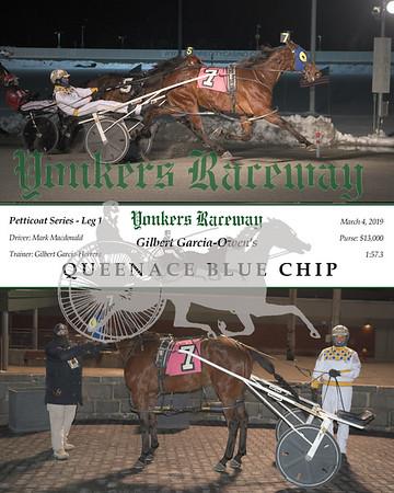 20190304 Race 5- Queenace Blue Chip