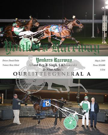 20190504 Race 10 - Ourlittlegeneral A