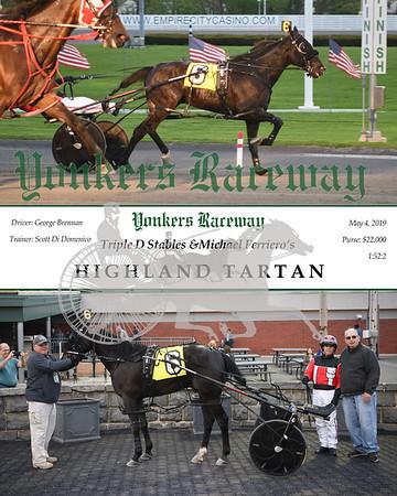20190504 Race 1 - Highland Tartan