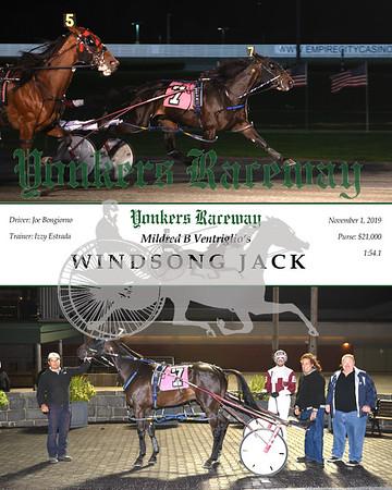 20191101 Race 5- Windsong Jack