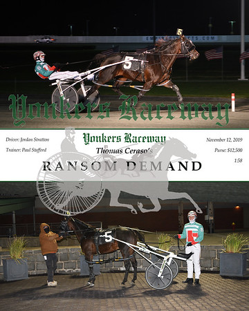 20191211 Race 1- ransom demand