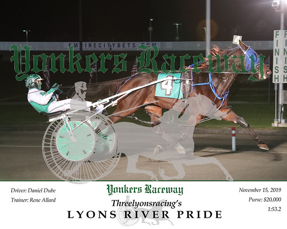 20191115 Race 4- Lyons River Pride 2