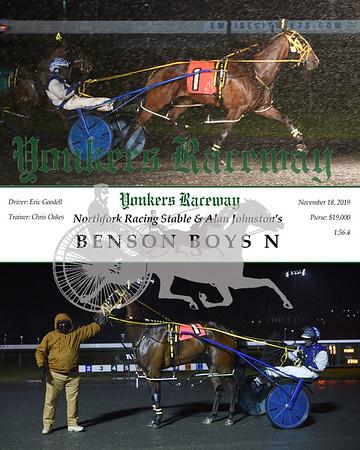 20191118 Race 7-Benson Boys N