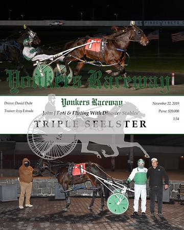 20191122 Race 5 - triple seelster