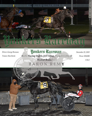 20191122 Race 8- baron remy