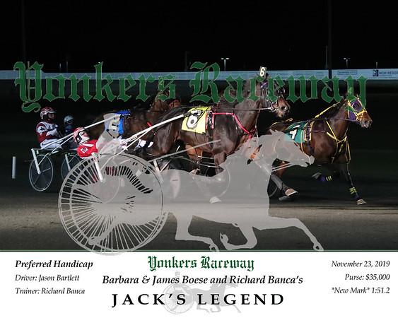 20191123 Race 6- Jack's Legend 4
