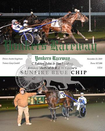 20191123 Race 9- Sunfire Blue Chip