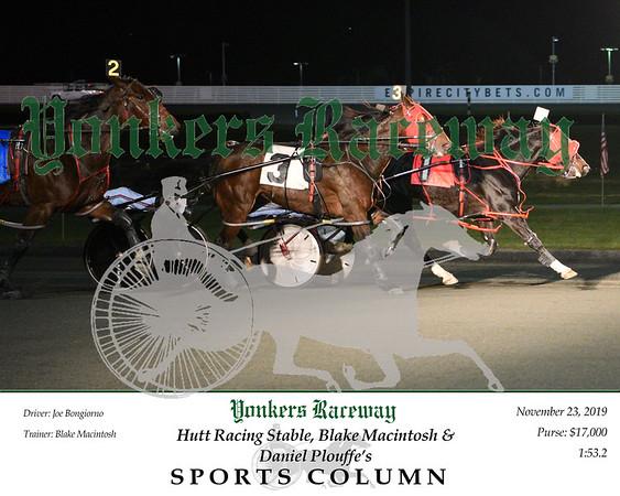 20191123 Race 3- Sports Column 2