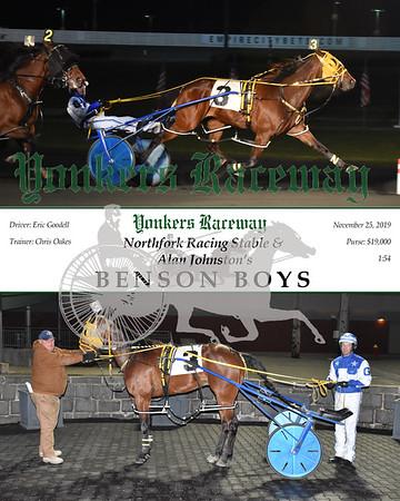 20191125 Race 10- Benson Boys